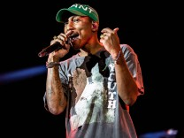June 30 2017 Italia American rapper Pharrell Williams Pharrell Lanscilo Williams in concert a