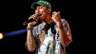 June 30 2017 Italia American rapper Pharrell Williams Pharrell Lanscilo Williams in concert a