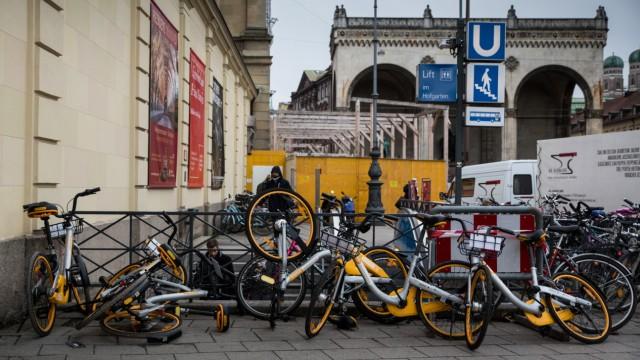 München: oBikes in München