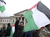 München: DEMO VOR DER OPER - Palästinenser (PGM) für Jerusalem