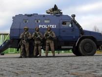Panzerwagen für Anti-Terror-Einsatz