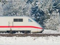 Deutsche Bahn im Winter
