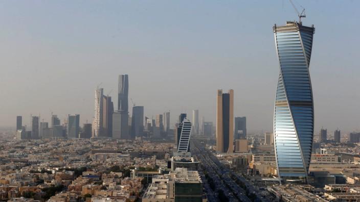Buildings are seen in Riyadh