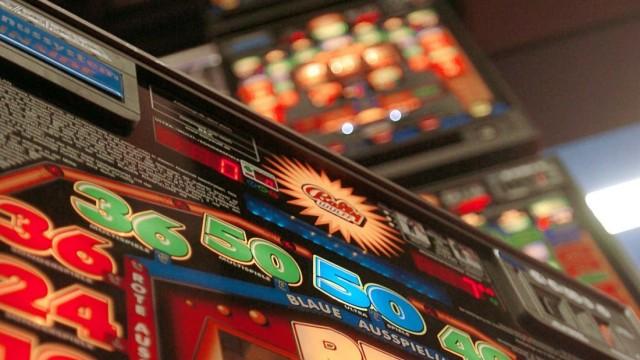 Spielsucht in Australien - Spielautomat