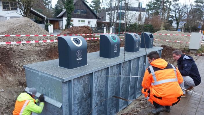 Unterflur-Container für Gräfelfing