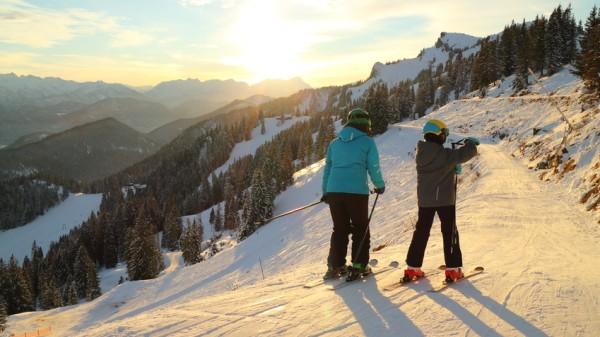 Brauneck Skifahren Ski Skigebiet