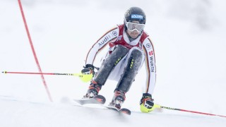 David Ketterer GER during the Alpine Skiing FIS World Cup Slalom men Levi 12 November 2017 in L
