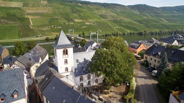 Alte Kirche Wehlen - Bufortschritt am 22.09.2017; Umbau Kirche