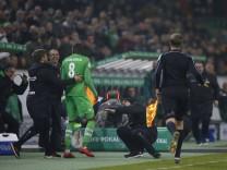 Mönchengladbach Deutschland DFB Pokal Achtelfinale Borussia Mönchengladbach Bayer Leverkusen 0 1