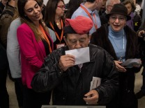Residents Of Catalonia Go To The Polls