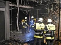Brand in Mädchenschule: Polizei vermutet Brandstiftung