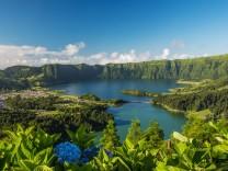 Sete cidades Vulkansee auf Sao Miguel (Azoren)