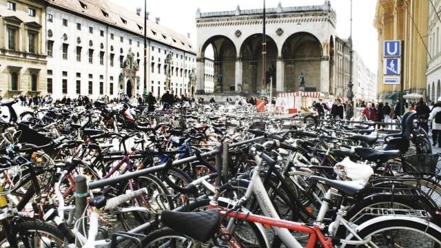 Fahrrad Fahrrad-Stellplätze