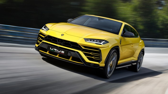 SUV und Supersportwagen: Der Lamborghini Urus schafft 305 km/h