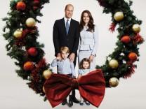 Weihnachtsgr¸ï¬'e von Prinz William und Kate