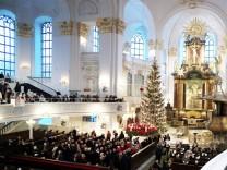 Weihnachtsgottesdienst im Hamburger Michel
