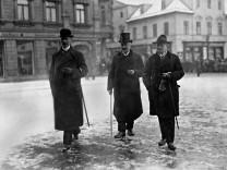 Konstantin Fehrenbach in Weimar, 1919