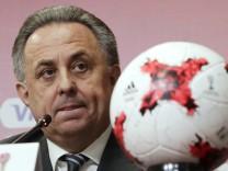 Mutko tritt als Cheforganisator der WM 2018 in Russland zurück