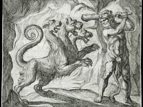Hercules und Cerberus
