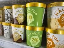 Maker of popular Halo Top ice cream explores a sale Containers of Eden Creamery s Halo Top ice cream