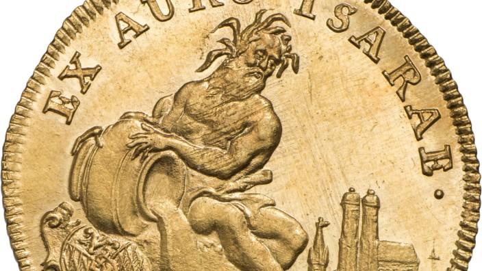 Isargold-Dukat von 1760