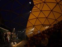 Lunatico Cymbeline Theaterzelt Theatron Ostpark Festspielhaus Neuperlach 2017