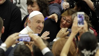 Papst Franziskus Generalaudienz