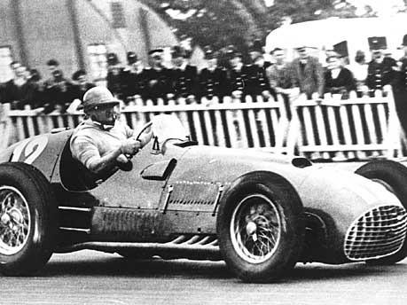 Formel 1 Ferrari 375 F1 1950 52 Als Formel 1 Sport