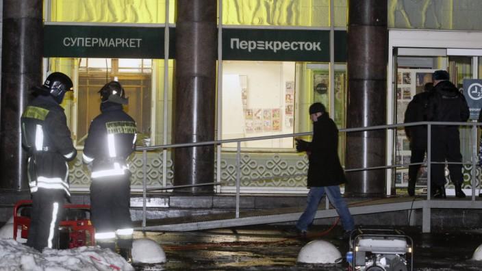 Bombe verletzt neun Menschen in Supermarkt