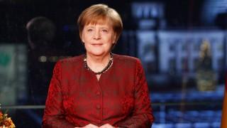 Angela Merkel Records New Year's Address
