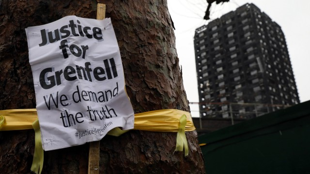 Scenes Around Grenfell Tower Six Months After The Fire