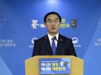 Südkoreas Vereinigungsminister Cho Myong Gyon