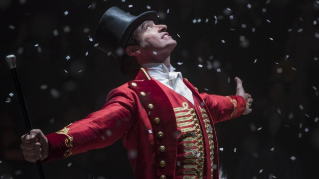 "Filmstills ""Greatest Showman"" mit Hugh Jackman, Kinostart am 4.1.18,"