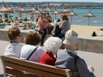 Alt und Jung auf Mallorca