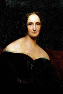 Portrait de l ecrivain britannique Mary Wollstonecraft Shelley 1797 1851 Peinture de Richard Roth