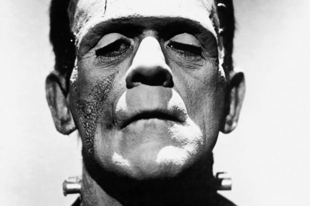 Boris Karloff from The Bride of Frankenstein as Frankenstein's monster