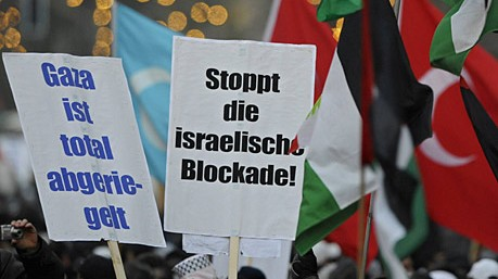 demonstration palästinenser berlin israel angriff gazastreifen hamas ddp