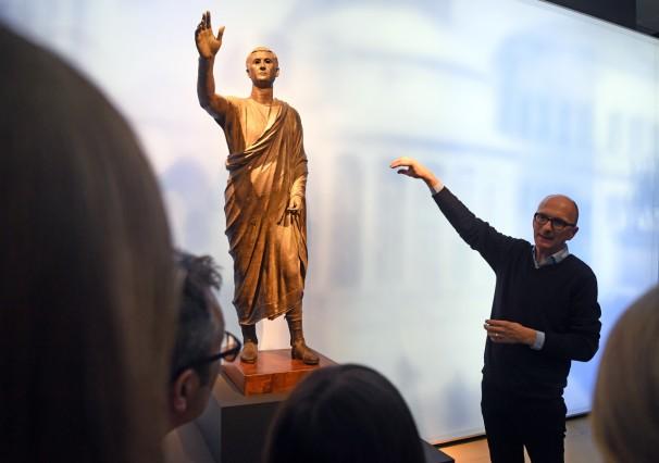 ARTIS-Uli Deck// 08.12.2017 Badisches Landesmuseum Karlsruhe, BLM, Ausstellung - Die Etrusker Ð Weltkultur im antiken Italien -