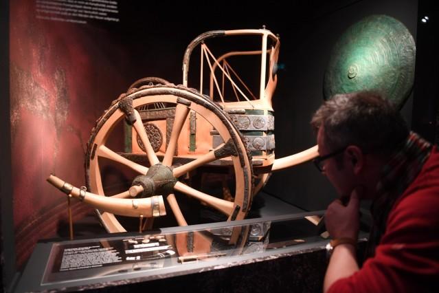 ARTIS-Uli Deck// 08.12.2017 Badisches Landesmuseum Karlsruhe, BLM, Ausstellung - Die Etrusker âē Weltkultur im antiken Italien -