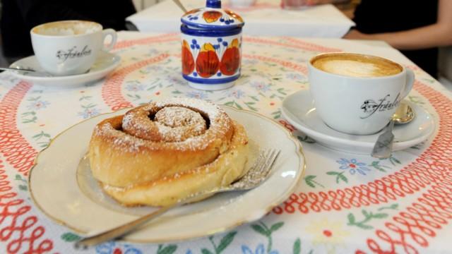 Freizeit in München und Bayern Münchner Kaffehauskultur
