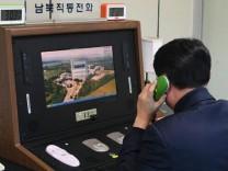 Kommunikationsleitung zwischen Südkorea und Nordkorea