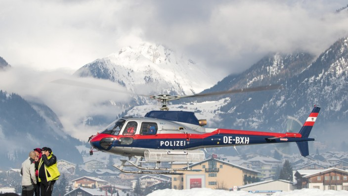 Lawinenabgang in Österreich