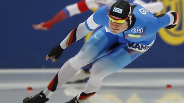 Eisschnelllauf: Europameisterschaft in Russland