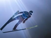 06 01 2018 Paul Ausserleitner Schanze Bischofshofen AUT FIS Weltcup Ski Sprung Vierschanzentour
