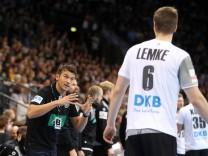 Deutschland DHB Island Deutschland Stuttgart 04 01 2018 Handball Länderspiel Deutschland DHB; prokop