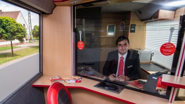 Bus statt Bankfiliale - Geldversorgung auf dem Land