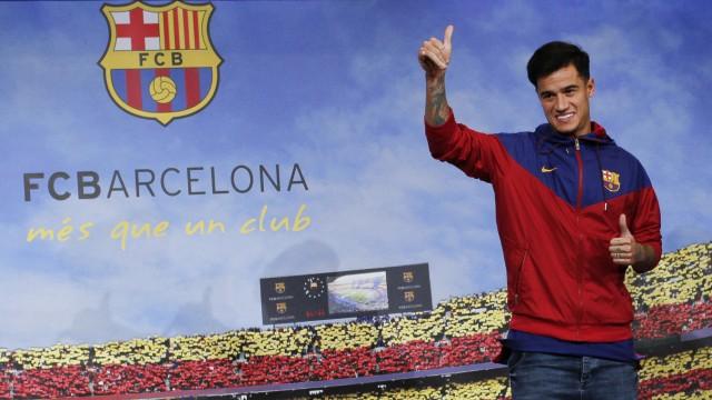 Philippe Couthinho beim FC Barcelona
