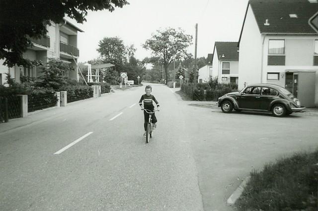 Forstinning Anfang der 70er Jahre