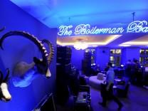 Boilerman Bar im 25hours Hotel München The Royal Bavarian in München, 2017