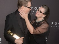 Focus Features Golden Globe Awards After Party - Arrivals; Gary Oldman und Frau